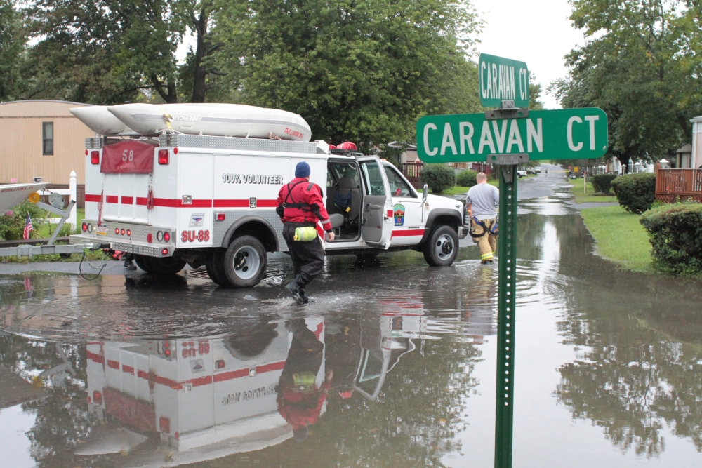 Continuing coverage of Flood hitting Middletown, Highspire, Royalton