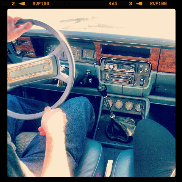 We rode to the beach in a 1985 AMC Eagle!