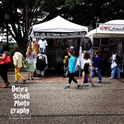 Artsfest 2014 Booths